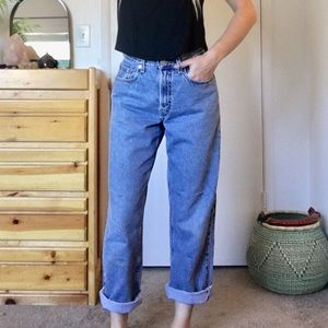 Levi's Vintage student high waist baggy mom jeans